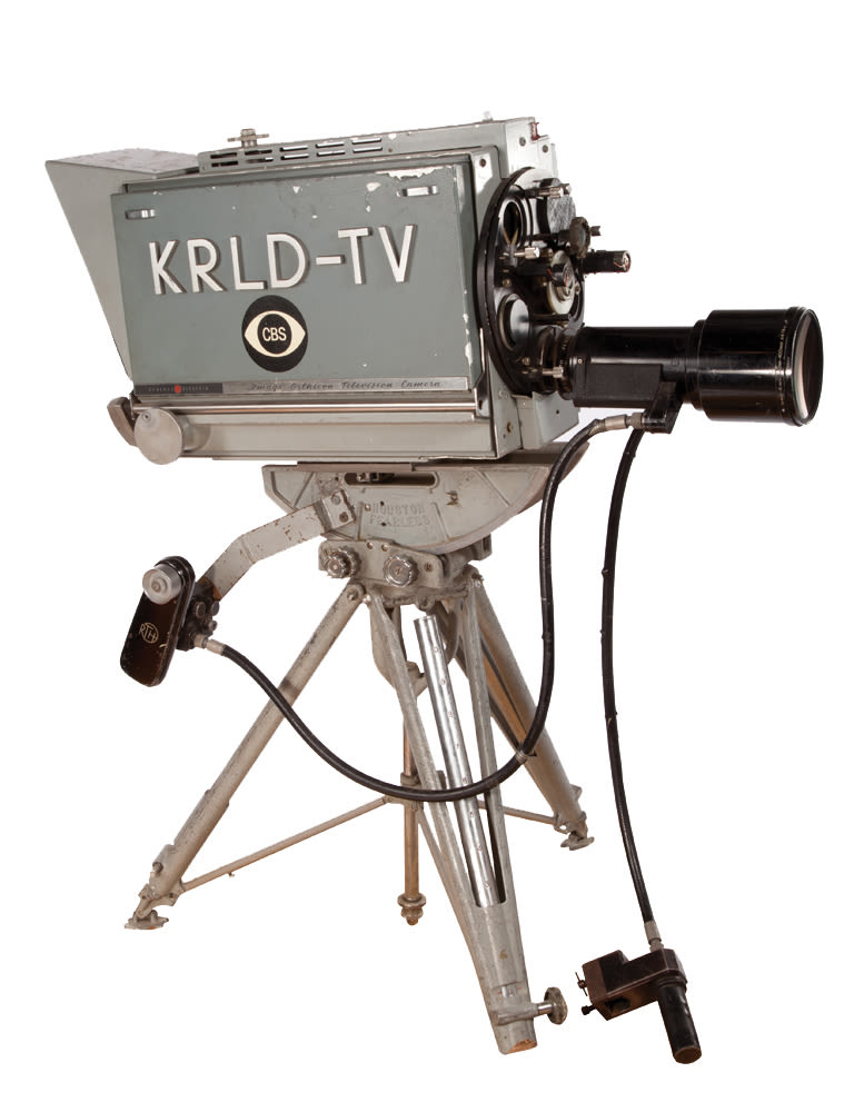 Cbs news camera  krld tv  dallas qub3sn