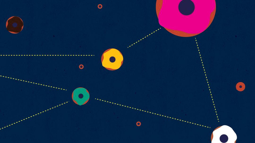 Pomo 0716 doughnuts donuts constellation lrfpux