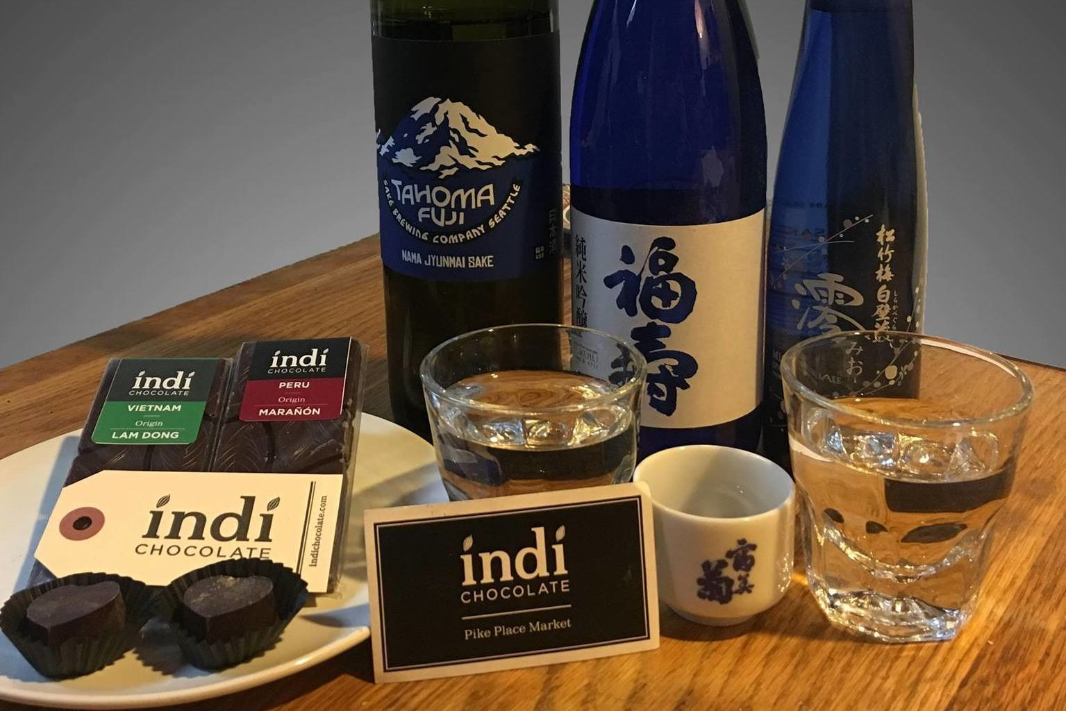 Chocolate and sake pairing z1nnua