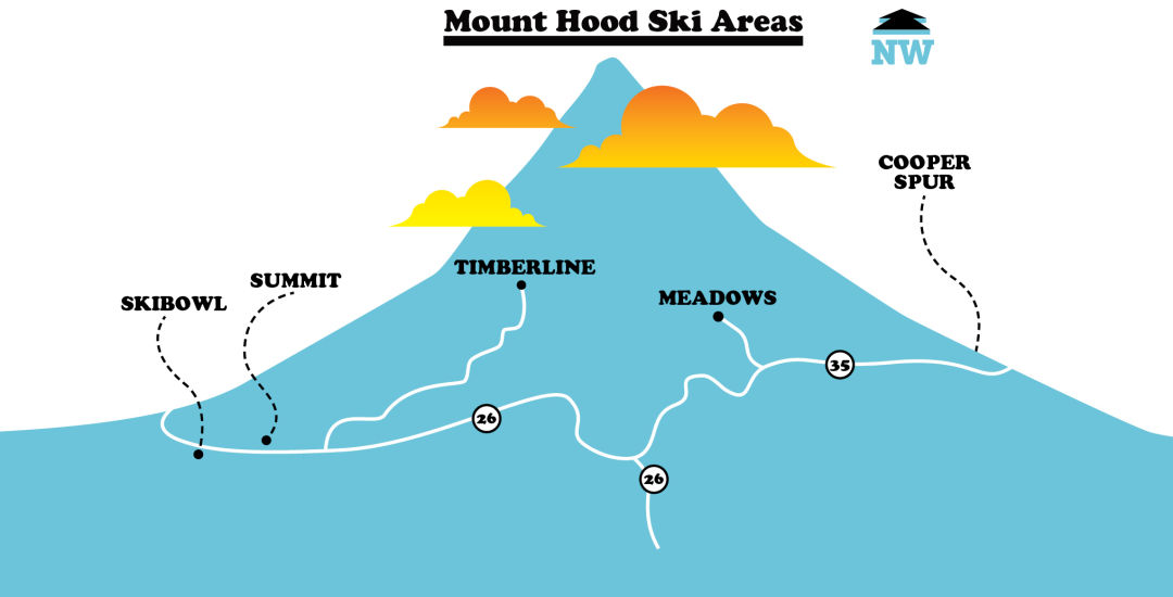 A Guide to Mount Hood's Ski Resorts | Portland Monthly on