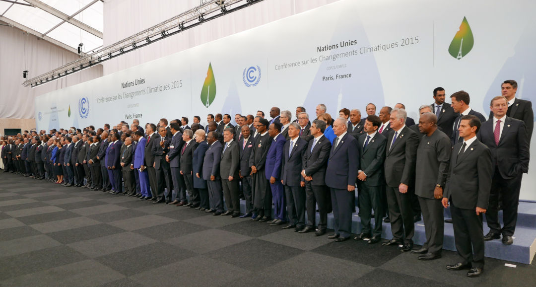 Heads of delegations at un climate conference 2015 paris accord jqxu0i