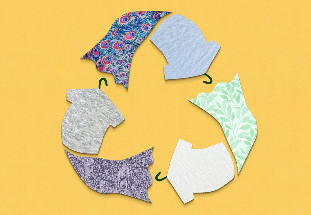 recycling and using clothing