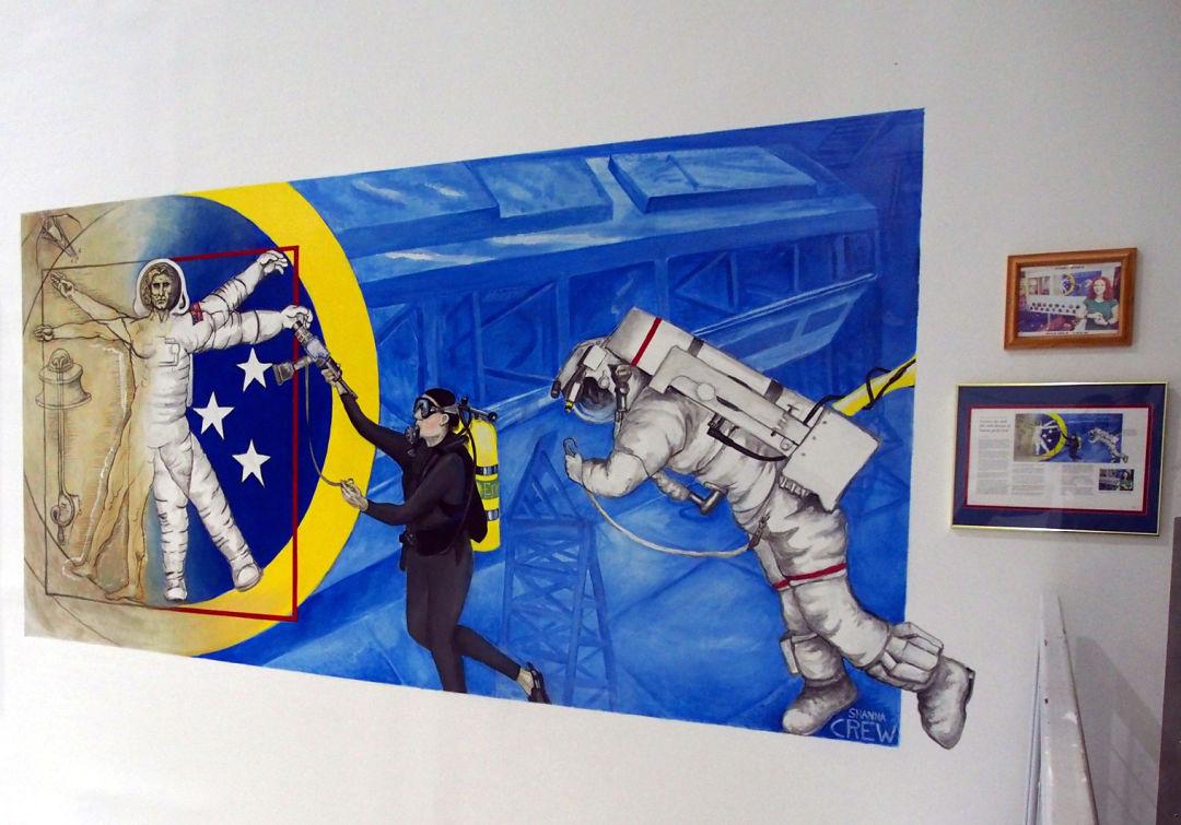Spacemural zcanis
