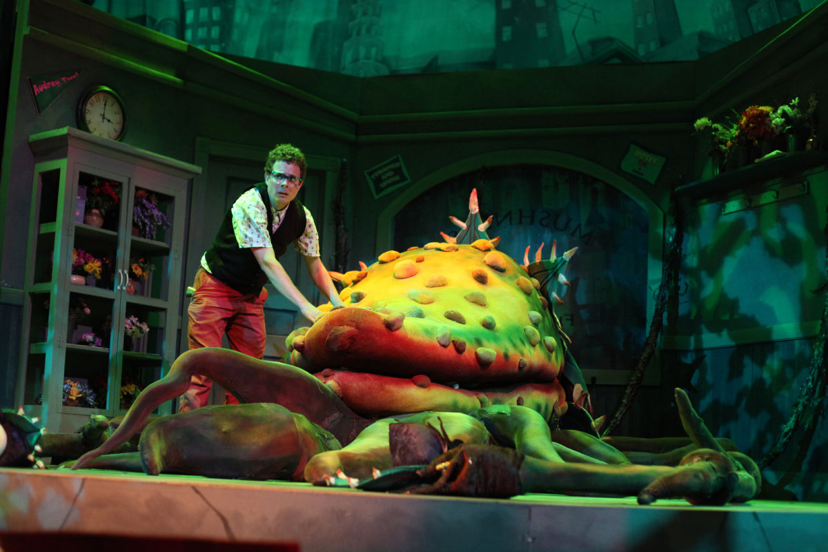 review of little shop of horrors Little shop of horrors regent's park open air theatre, london five stars book now it is remarkably over 30 years since our hearts were first captured by an all-singing bloodthirsty man-eating plant.