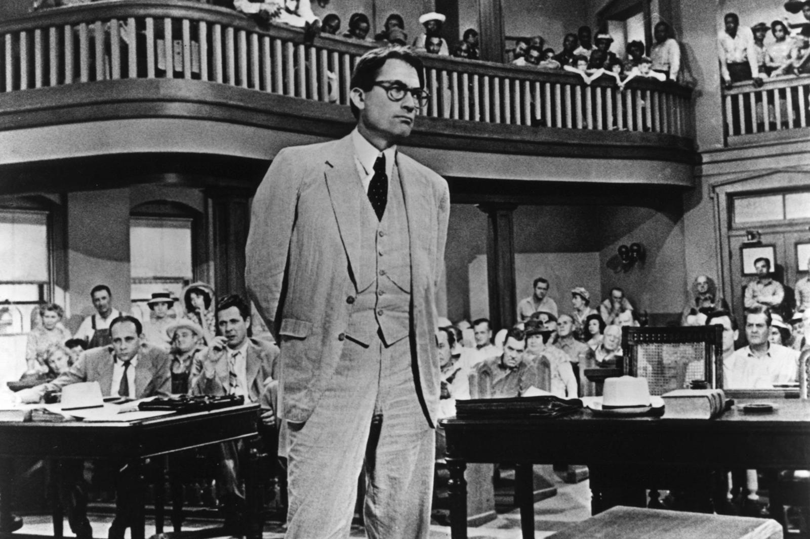 Gregory peck portrays attorney atticus finch in the 1962 film to kill a mockingbird b90b03b6d581ac59 dbcyky