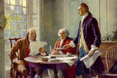 Writing the declaration of independence 1776 cph.3g09904 pyhm58