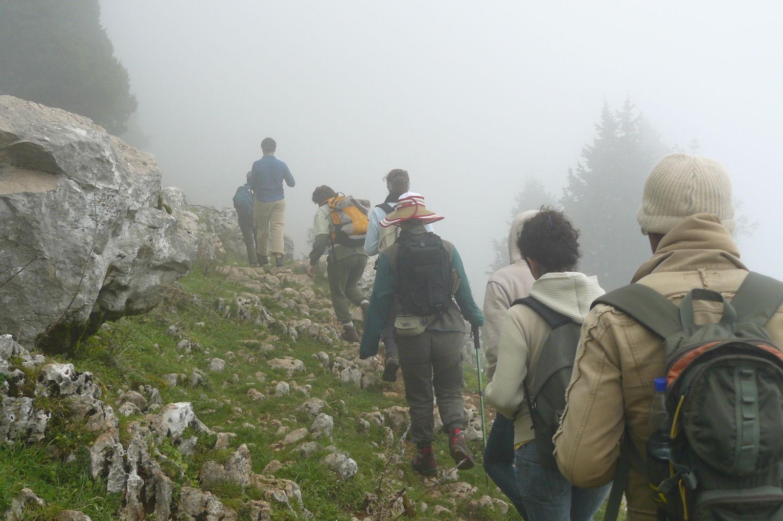 Trekking in the lebanon mountains iighun