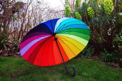 Moma rainbow umbrella grq6ds