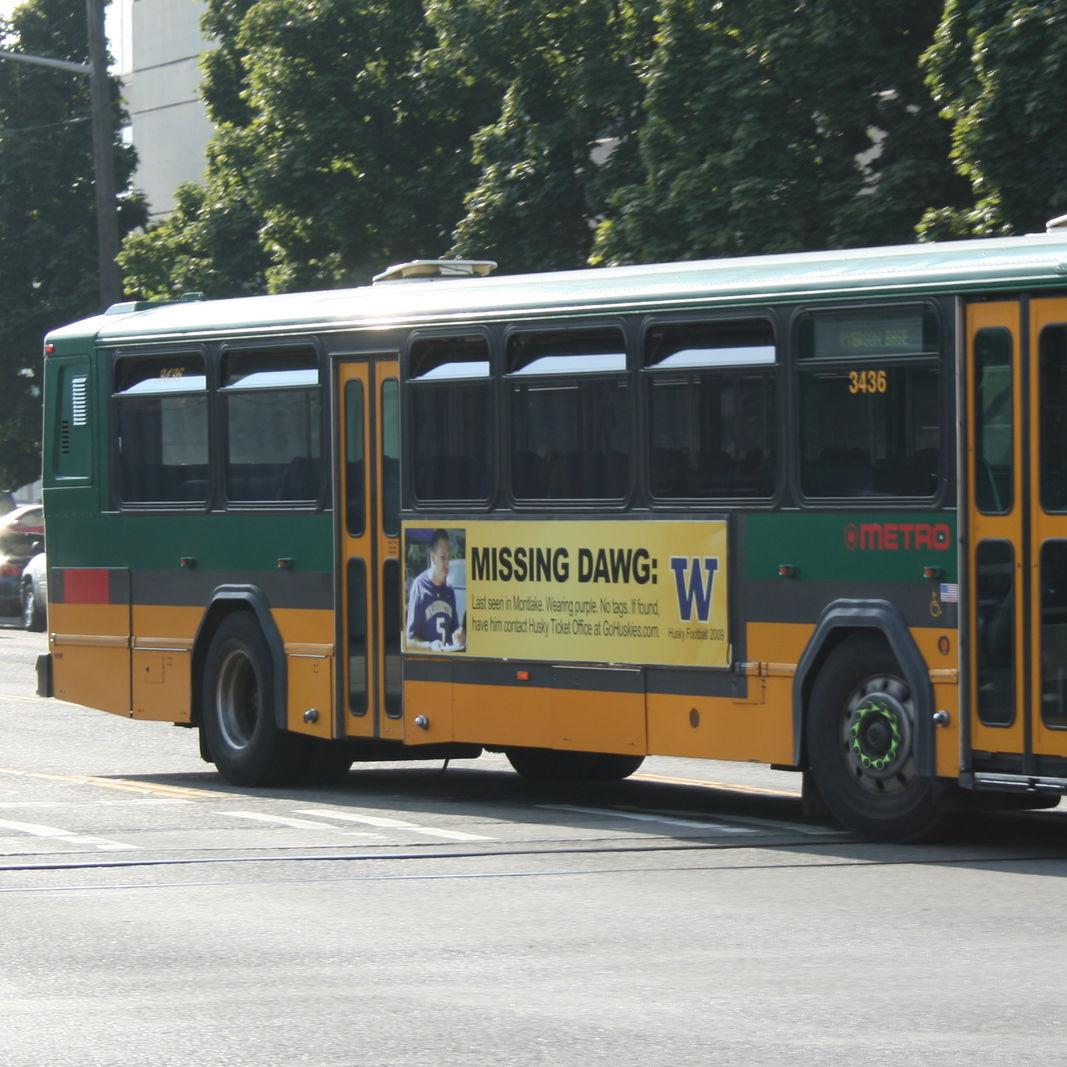 King county metro transit gillig phantom 3436 dgl9qh