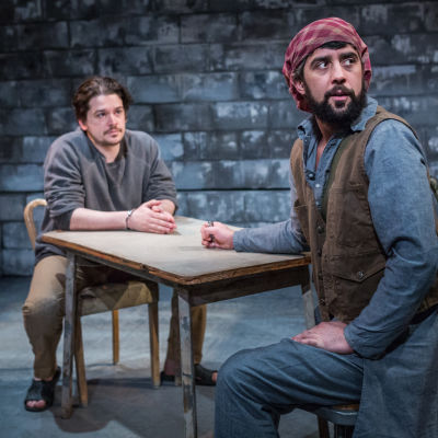 The invisible hand by ayad akhtar artists rep connor toms  john san nicolas photo by owen carey  t5ydby