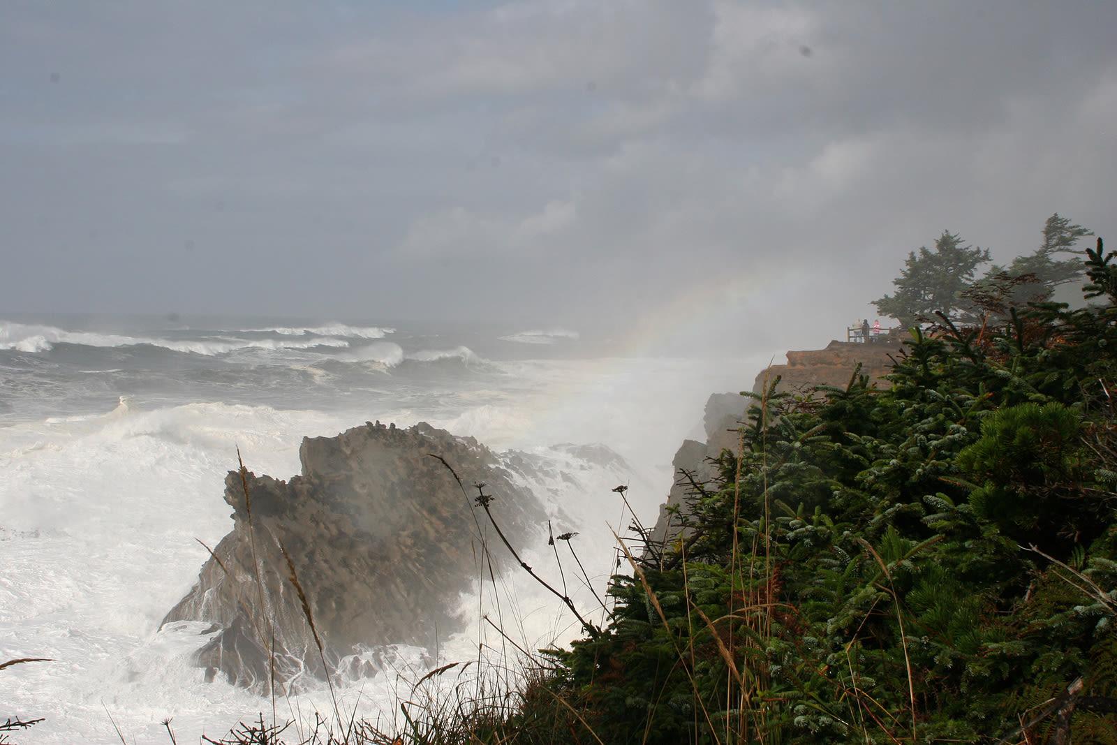 Oregon coast storm joanna bourne m54ok0