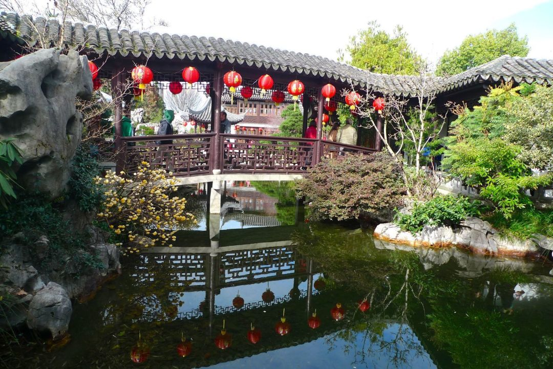 The History Of Portland S Lan Su Chinese Garden Portland Monthly