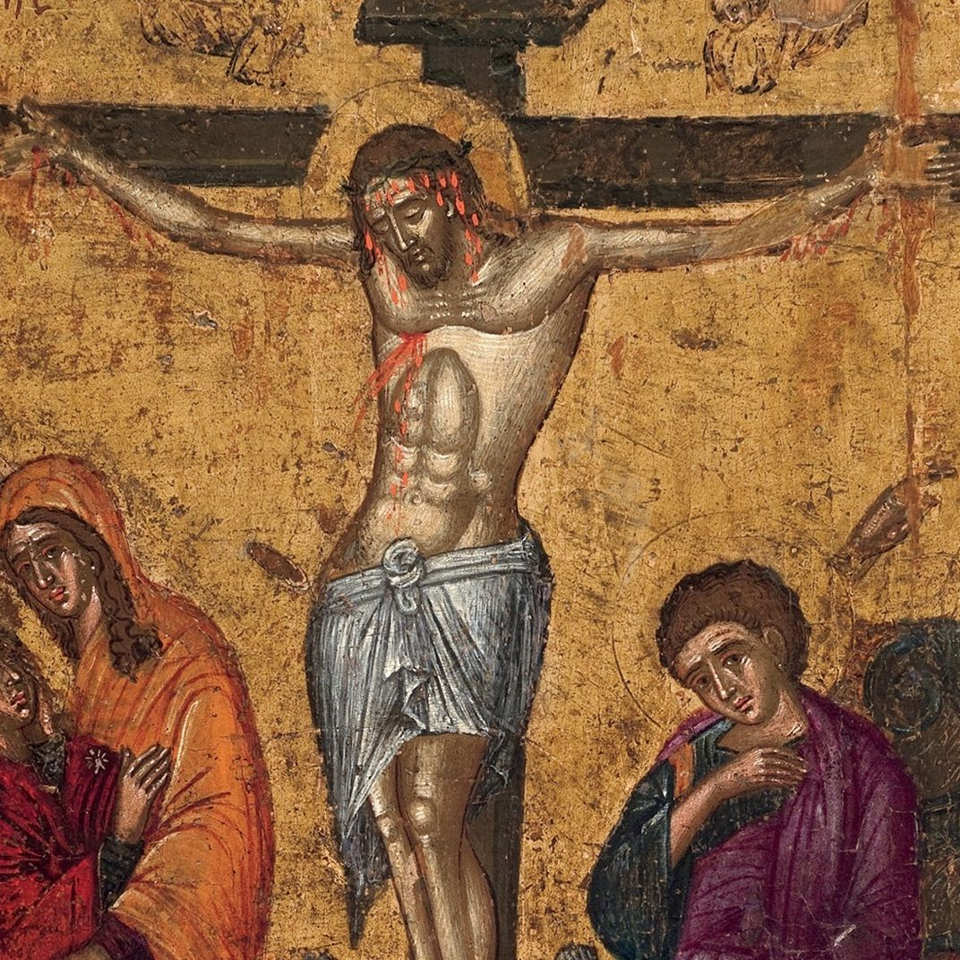 Crucifixion of christ mdq5jp