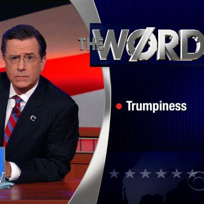 Colbert trumpiness ypbcuq