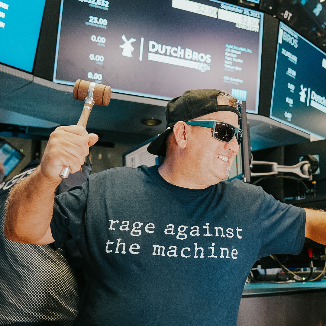 I Can't Stop Thinking About the Dutch Bros. Guy's Rage Against the Machine T-Shirt