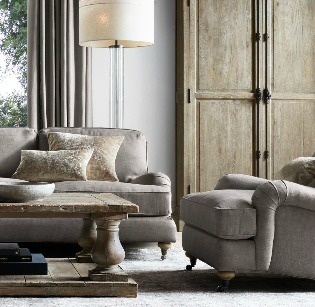 Pillow Talk: Restoration Hardware Collaborates With Local