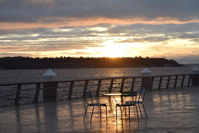 Pier 62 sunset