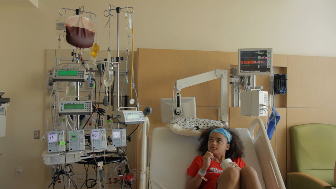 Imani cornelius during bone marrow transplant yjnjtl