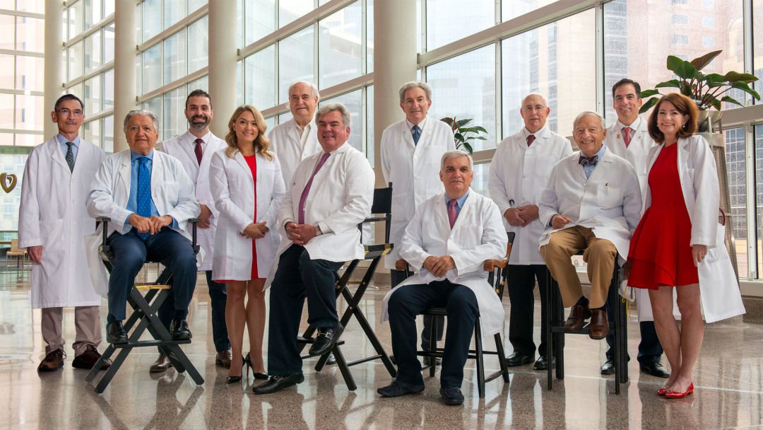 The Texas Heart Medical Group's 12 doctors.