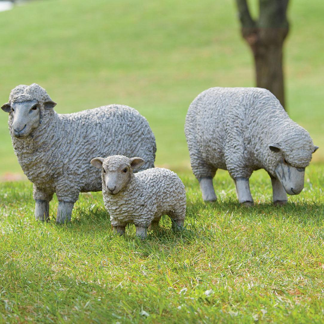 0215 gardening gear sheep garden statues gxsxj6