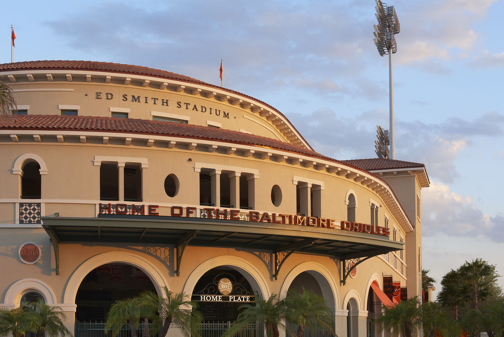 Ed smith stadium exterior yozzi2