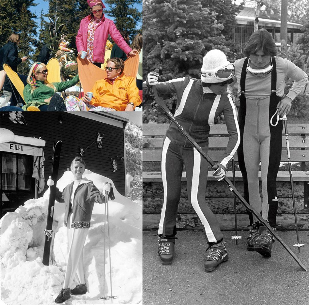 0215 breaking trail colorful ski couple domwc5