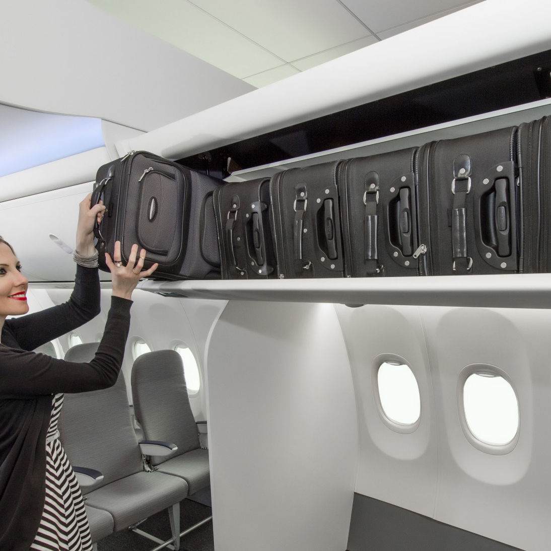 Boeing space bins l3tkuq