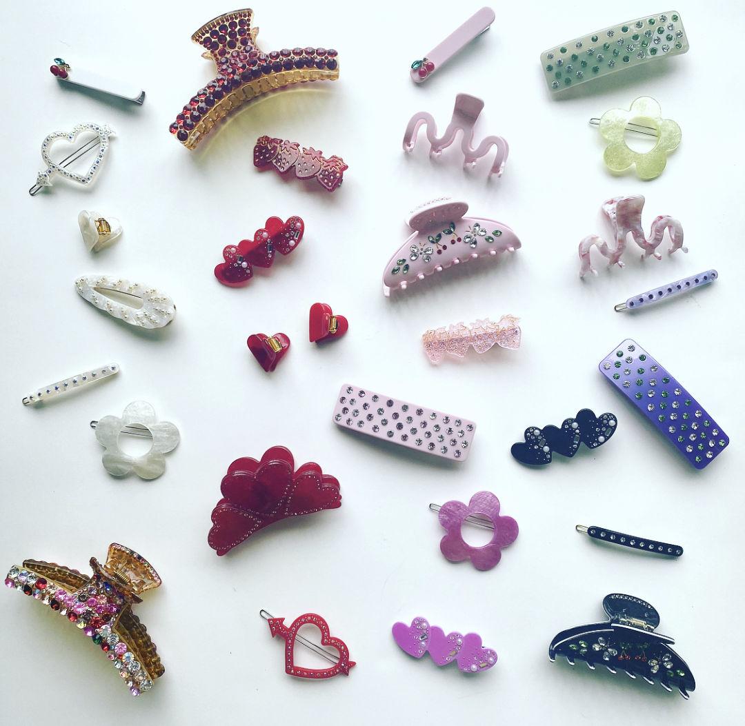Sparkle Diva hair clips
