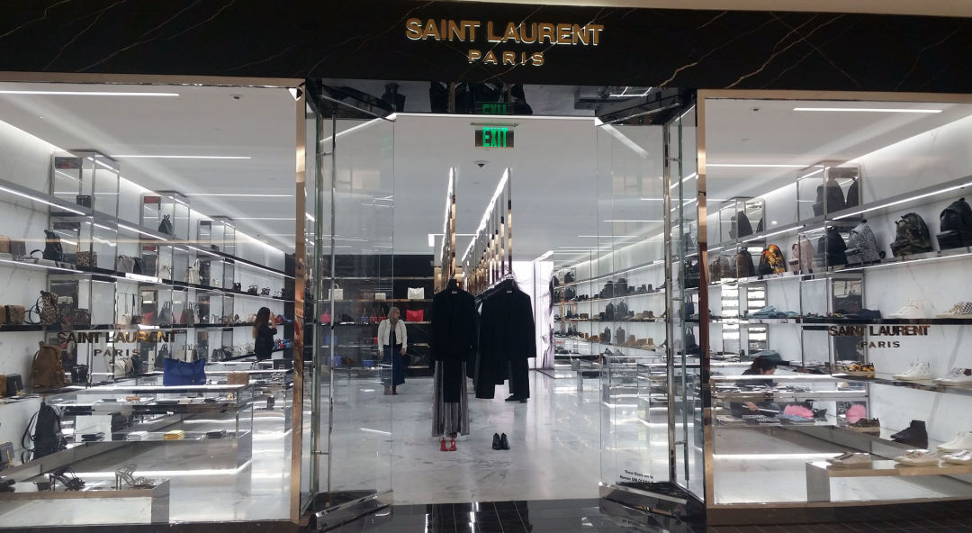 19446686d7888 The New Saint Laurent Store Is Giving Us Sleek Marble Realness ...