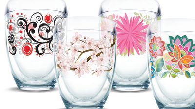 Tervis wine glass stemless  gardenparty  p0go7h
