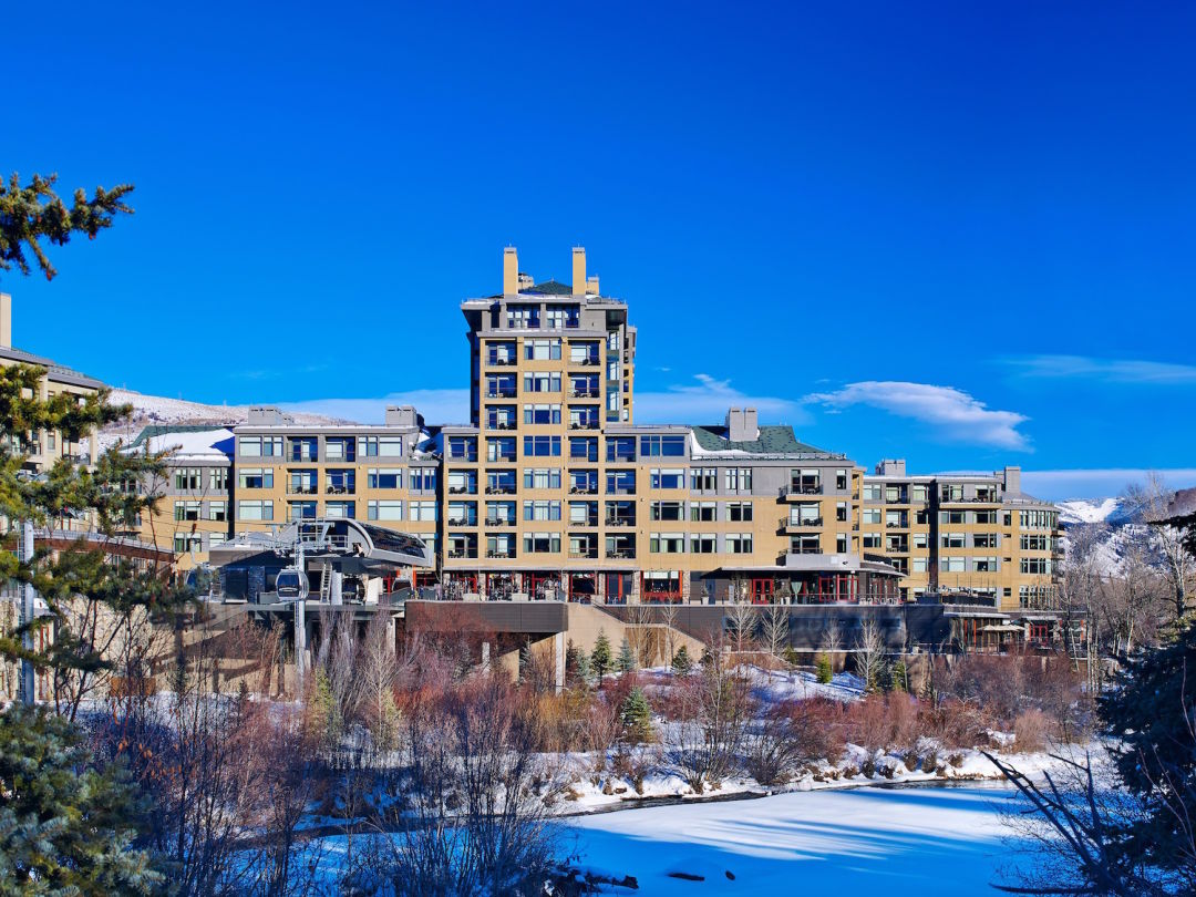 experience the vail valley's award-winning westin riverfront resort