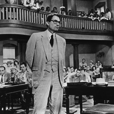 Gregory peck portrays attorney atticus finch in the 1962 film to kill a mockingbird b90b03b6d581ac59 dbcyky