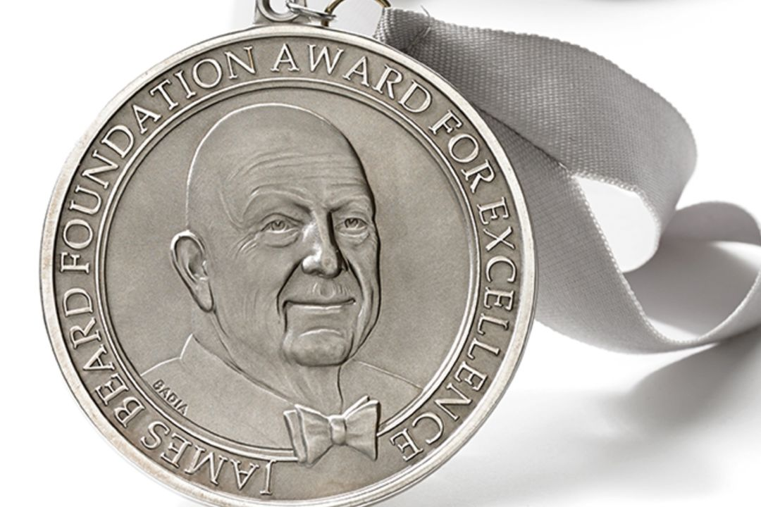 James beard award medal tsvai6