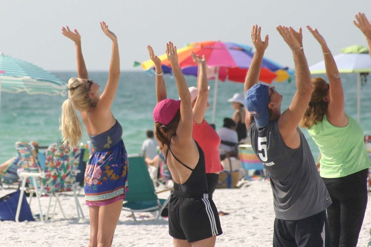 Go to the Beach or Practice Yoga? Why Not Do Both ...