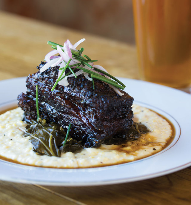 1115 table southern goods beef belly grits roifhi