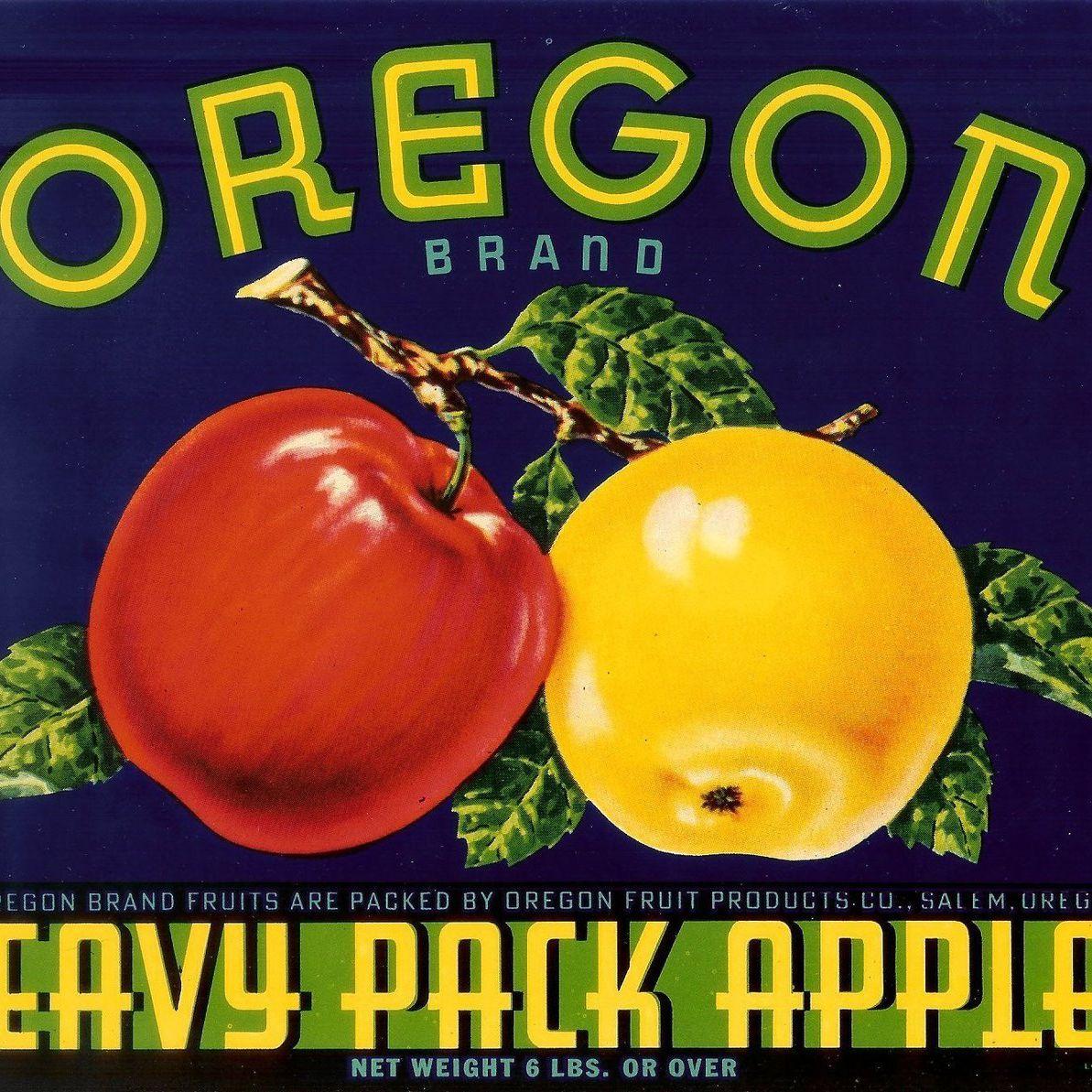 Oregon apples y5uqfn