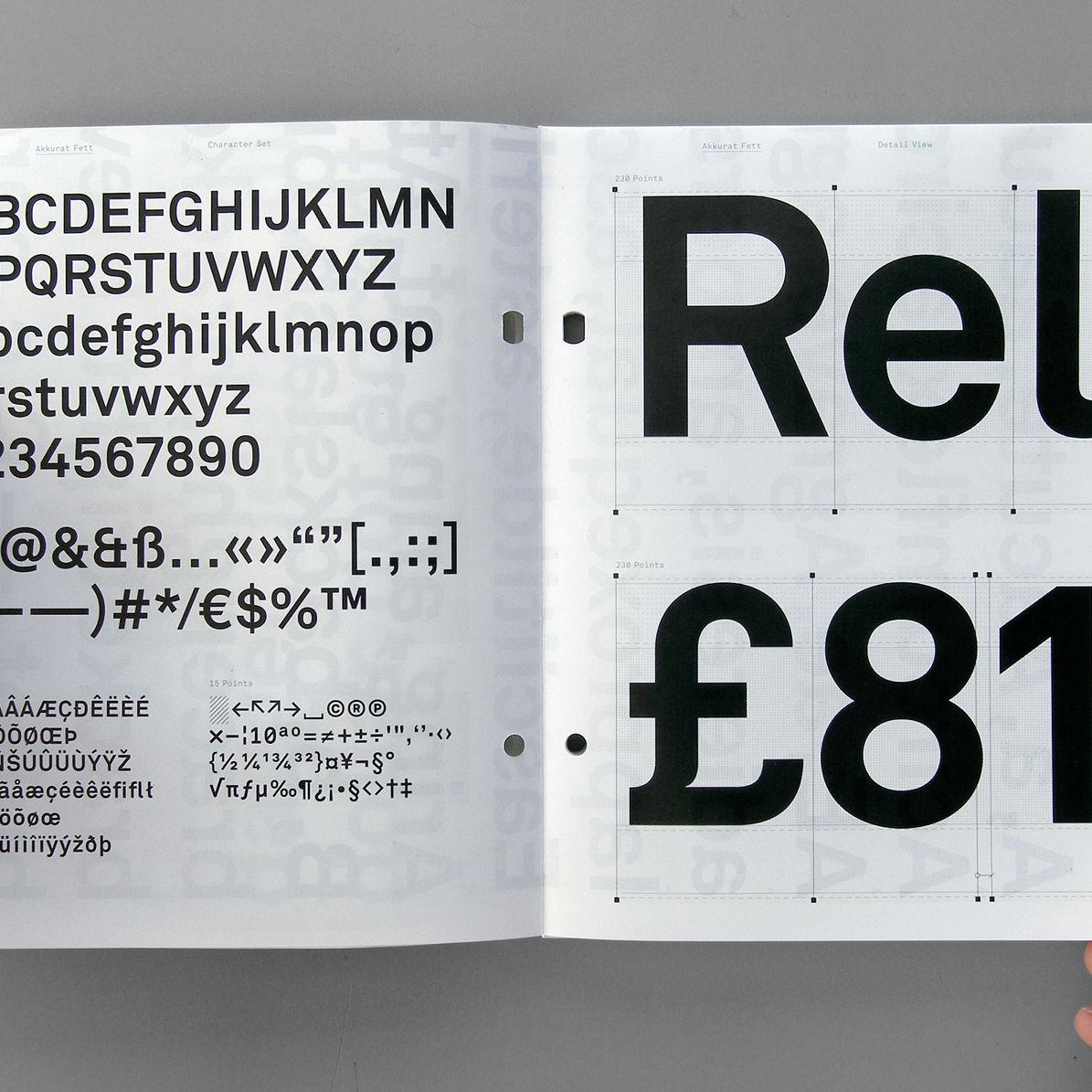 Laurenz brunner akkurat typography oecmjn