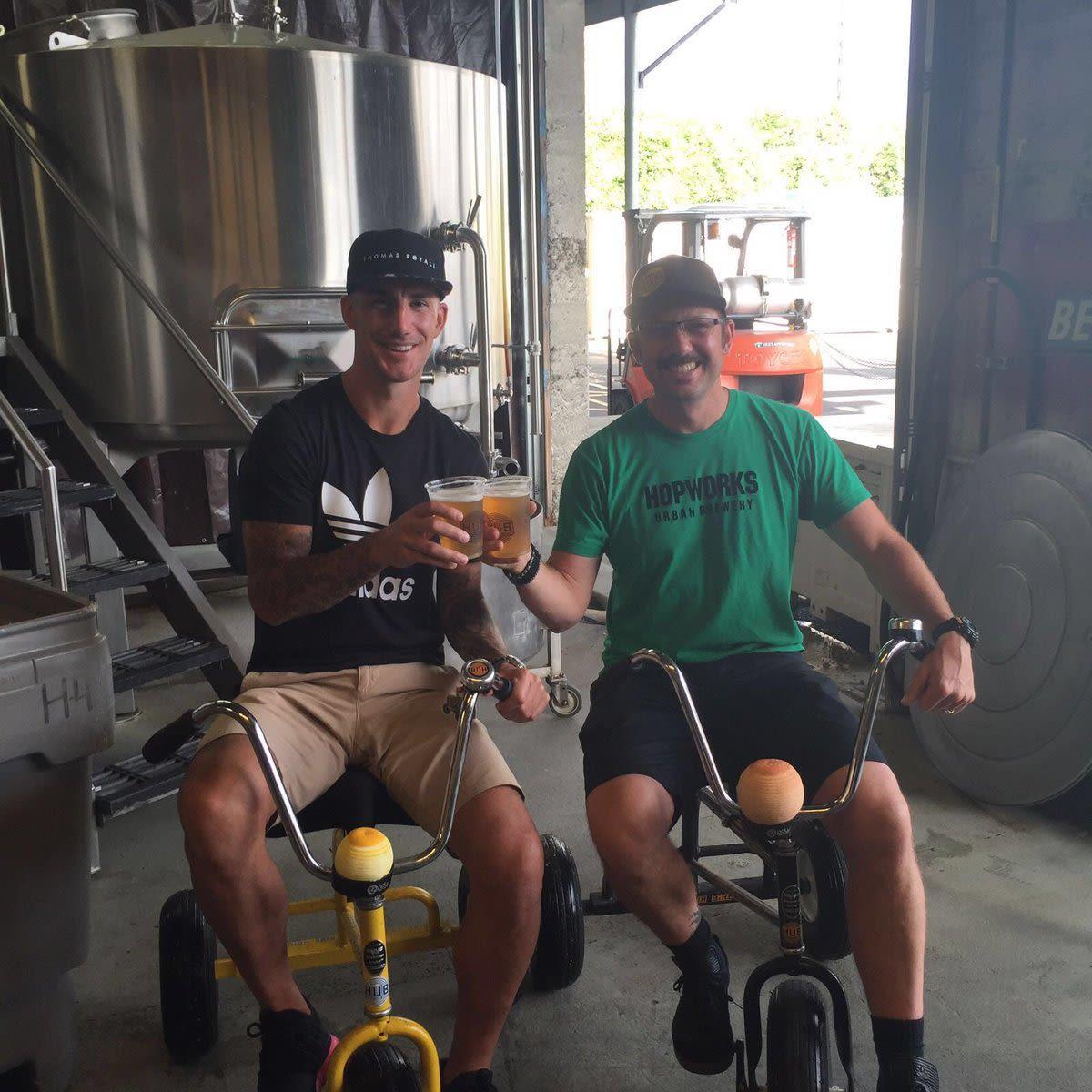 Liam ridgewell hopworks beer cu1bvz