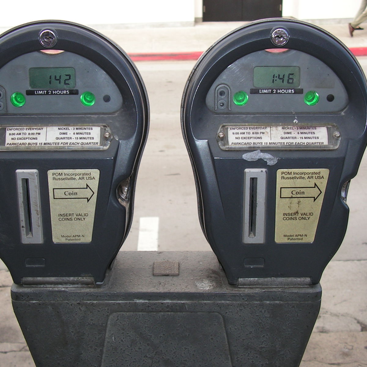 Parking meter uvemyy