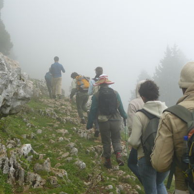 Trekking in the lebanon mountains iighun