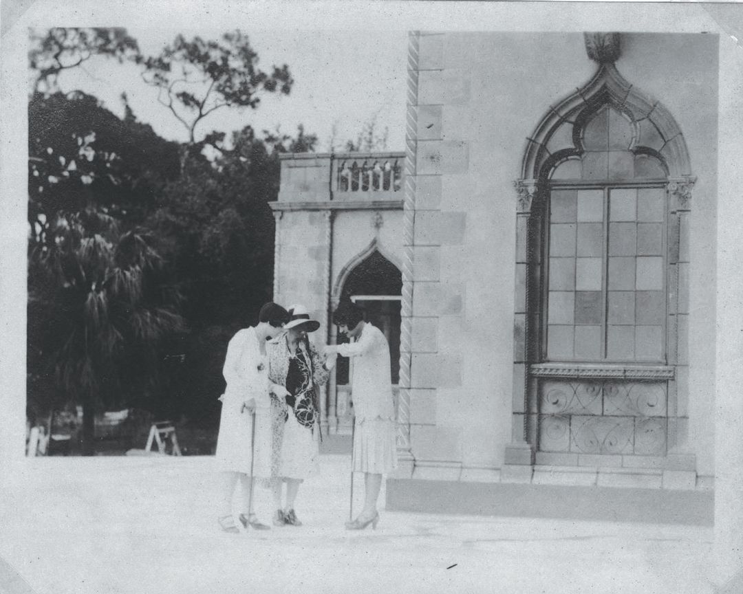 Visitors to The Ringling in 1931