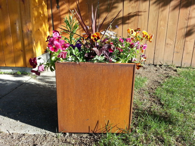 Metal Planters Made In The Usa Portland Monthly