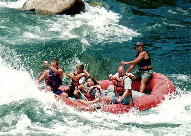 Park city summer 2013 out of the park whitewater rafters o2tznj