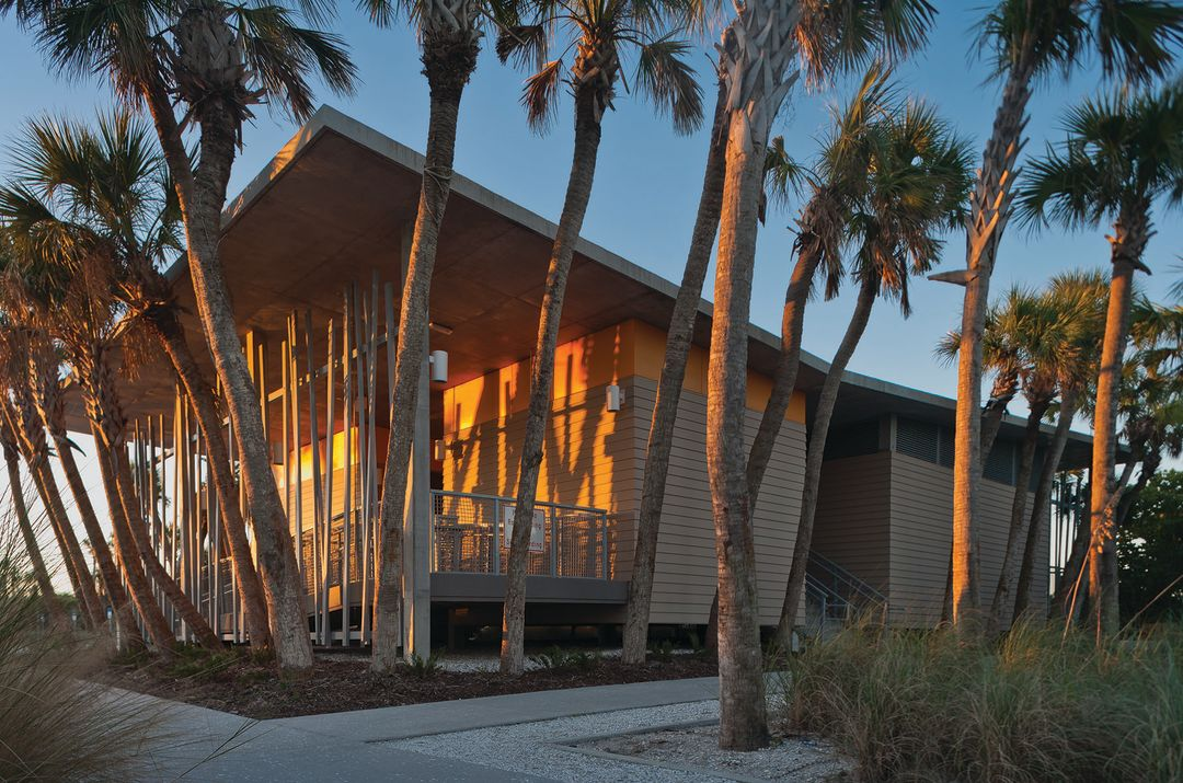The Manasota Beach Pavilion