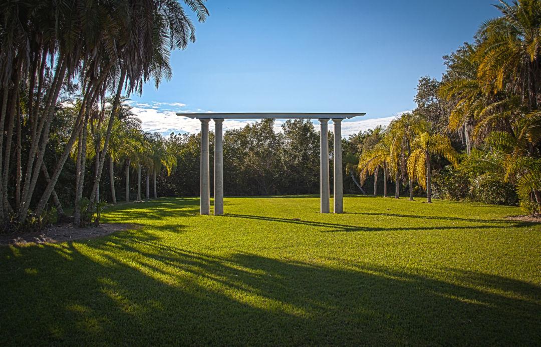 Historic Spanish Point's Duchene Lawn.