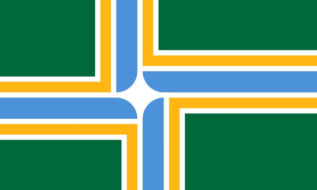 Flag of portland rx4phz