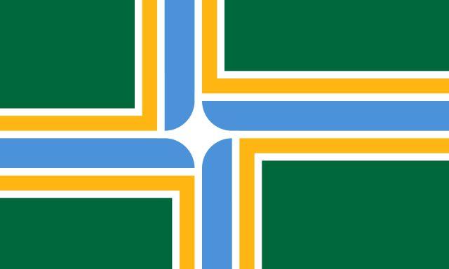 Flag of portland rx4phz