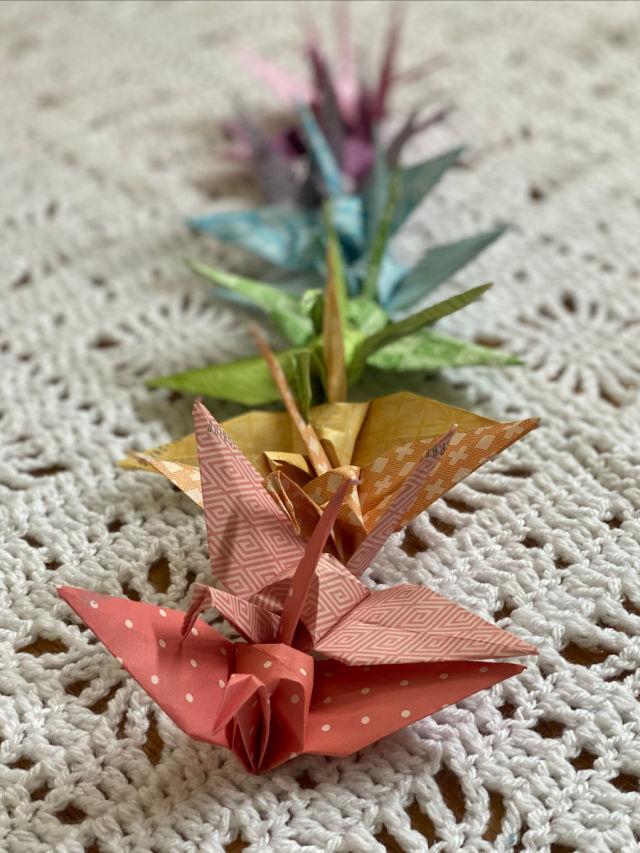 Origami Paper Senbzuru 1000 paper cranes kit 1005 | Etsy | 853x640