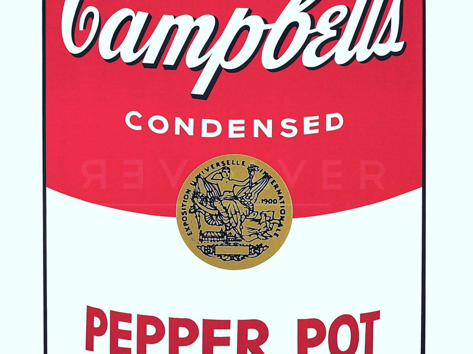 Andy warhol campbells soup i pepper pot ysqce5
