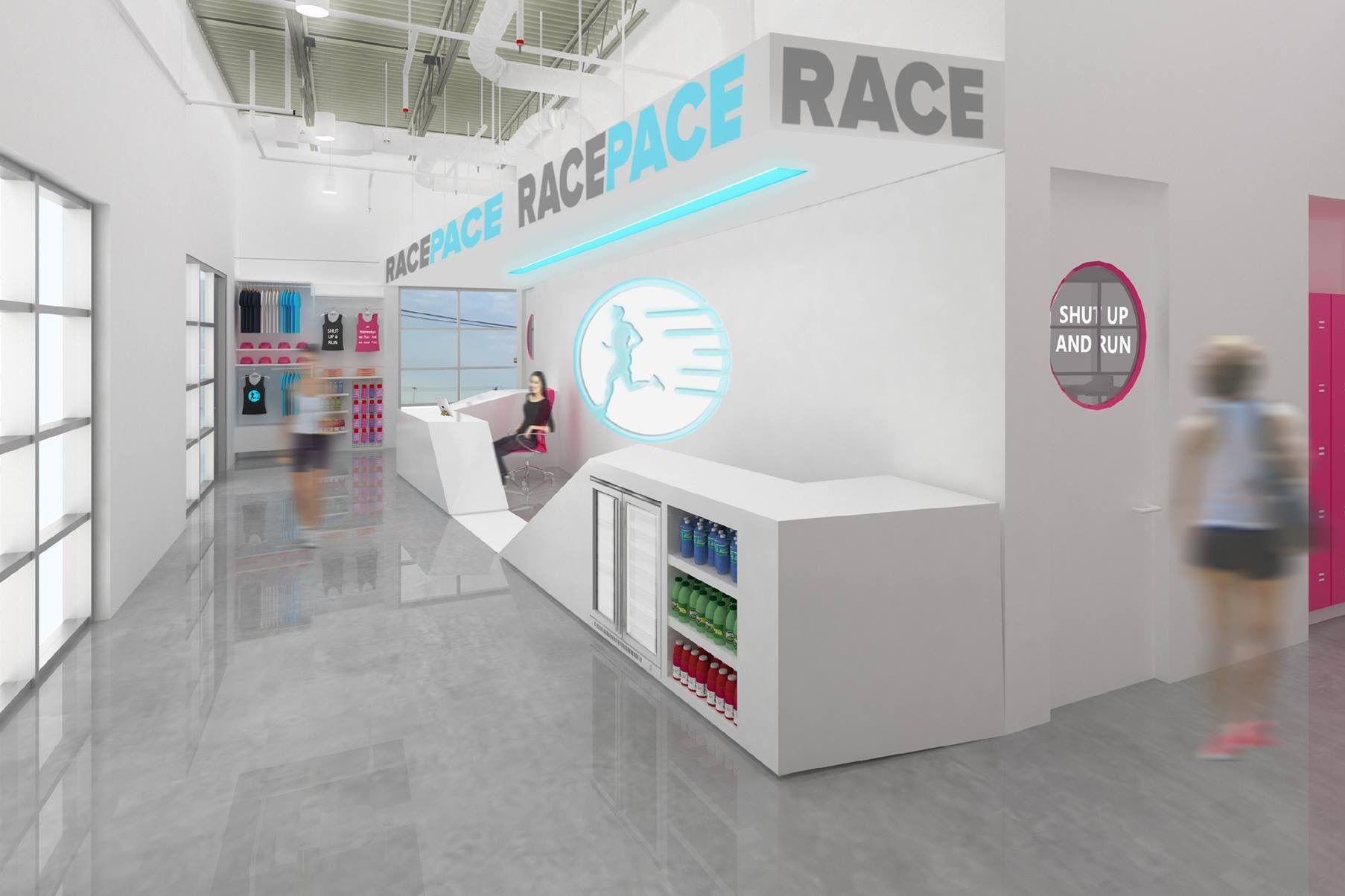 Graphic rendering racepace lobby vay6j7